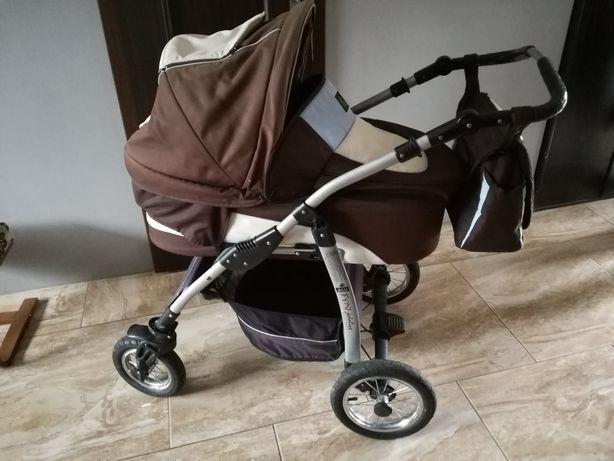 Wózek 3w1 konsola spacerówka nosidełko do auta