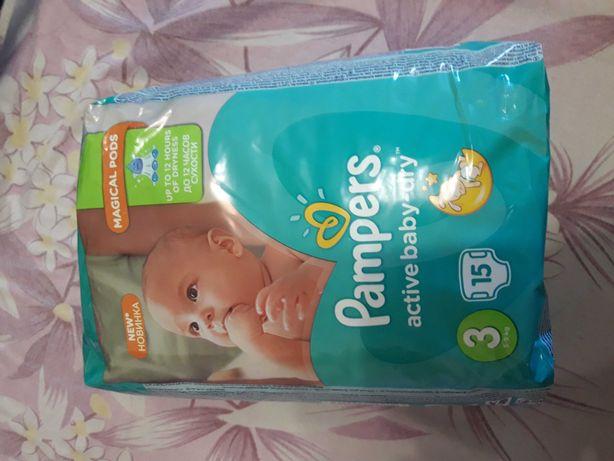 Памперс active baby dry