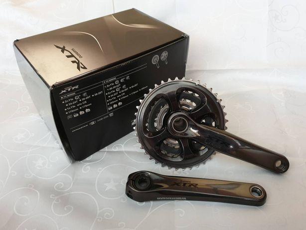 Shimano korba XTR FC-M9020 11rz 175mm 40x30x22T