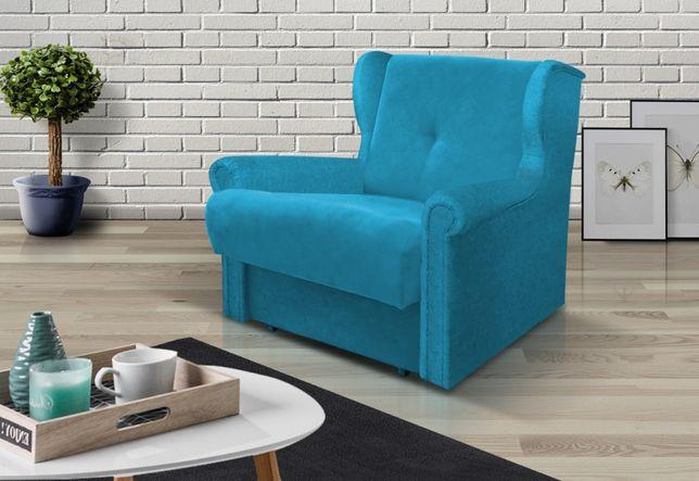 fotel rozkładany amerykanka łóżko 1-os AMBER dla dziecka kanapa sofa