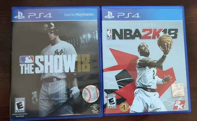 Два диска для PS4