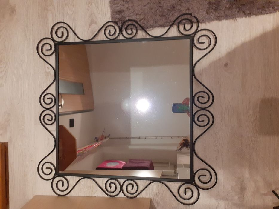 Lustro czarne IKEA do zawieszenia Milicz - image 1