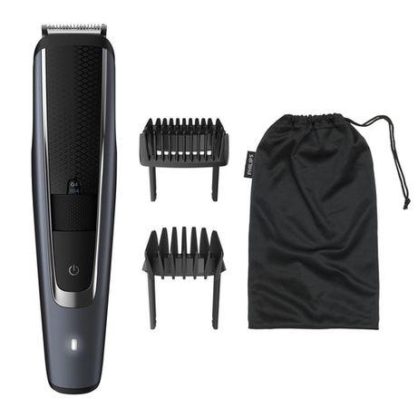 Philips BEARDTRIMMER Series 5000 BT5502/13 триммер для бороды Черный