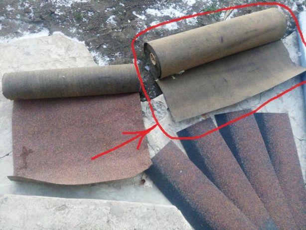 Подкладочный ковер под битумную черепицу (еврорубероид, рубероид)