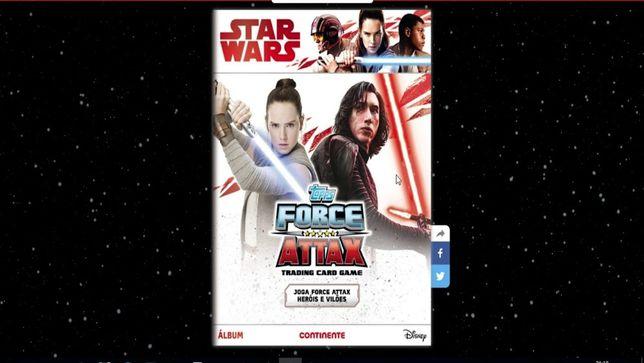 Star wars coleção-cromos