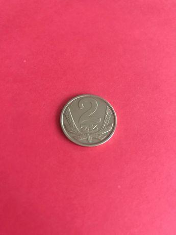 2 zlote - od roku 1975 do 1988 roku (monety z mosiądzu)