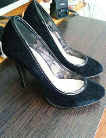 Женские, замшевые туфли