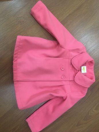 Пальто детское на 2-3 года