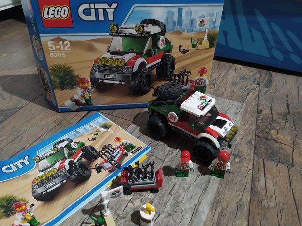LEGO CITY 60115 auto pustynna terenówka