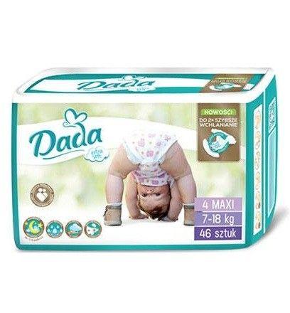 Одноразовые детские подгузники премиум класса Dada Extra Soft (дада