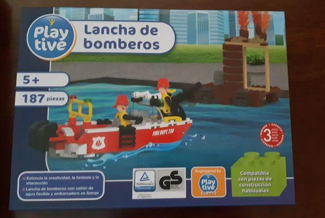 Barco dos Bombeiros da Playtive (NOVO)