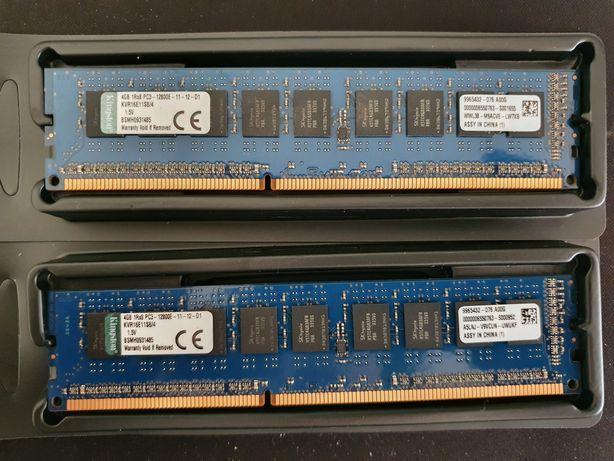 8 Gb Memória Ram DDR3 UDIMM ECC 1600 PC3-12800E