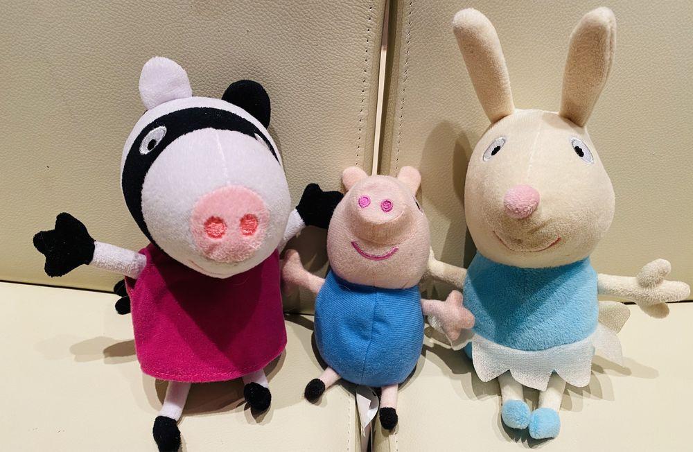 Мягкие игрушки из мультфильма свинка Пепа Киев - изображение 1
