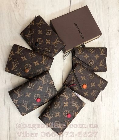 Кошелек LV | Louis Vuitton | луи витон на кнопке