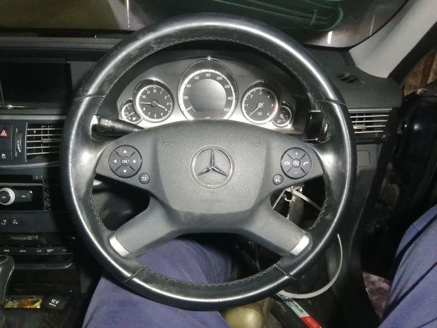 Mercedes w212 Klasa-E kierownica skóra radio panel klimy