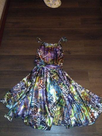 Красивый сарафан платье