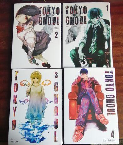 Tokyo Ghoul Manga tomy 1-4