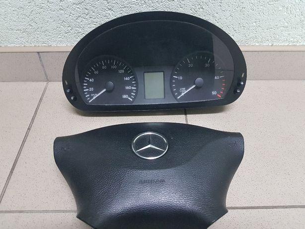 Mercedes Sprinter 906 Панель приборов Аербег Аirbag пожушка безопаснос