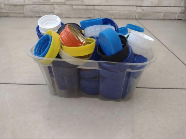 Nakrętki plastikowe - za darmo