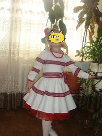 Плаття для дівчинки 5-7 років