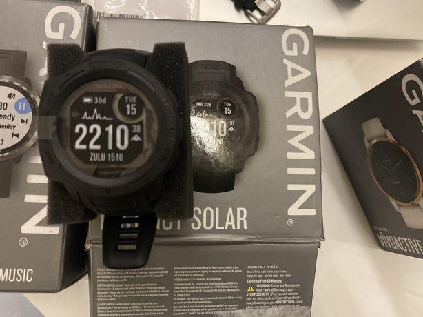 Garmin Instinct Solar Graphite