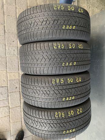 Шини резина 275/50r20 Pirelli 6mm 4шт. Зима зимние