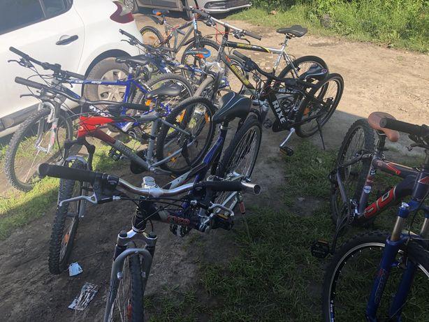 Велосипеди ровери 24  26 28 кол великий вибір велосипеди з Німеччини