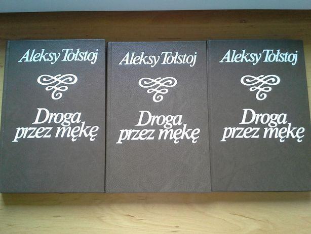 Droga przez mękę, Aleksy Tołstoj, kpl. 3 tomy, literatura, klasyla.