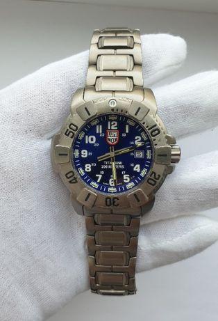 Мужские часы Luminox Evo Navy Seal Titanium LMX 6604 Sapphire