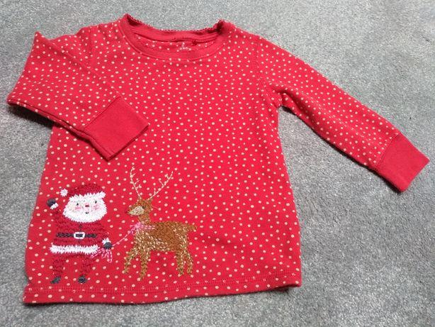 Sweterek świąteczny next