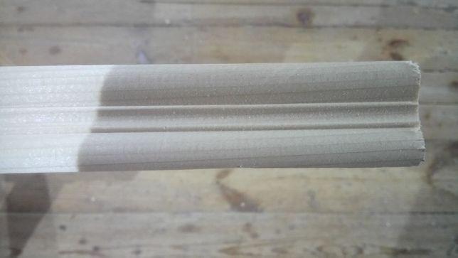 Listwa ozdobna ćwierćwałek 30x30mm - świerk