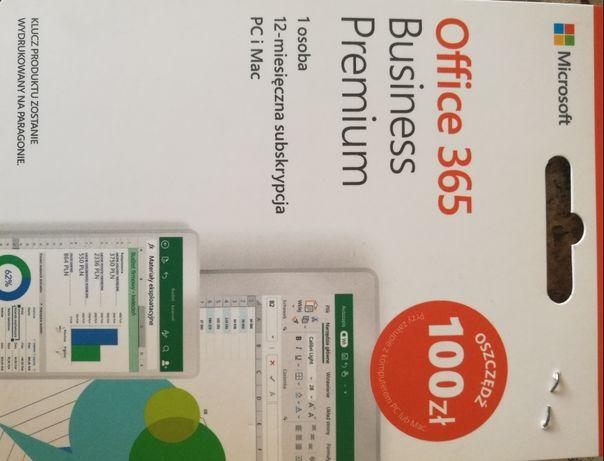 Pakiet office 365 w wersji business premium 12 miesięcy