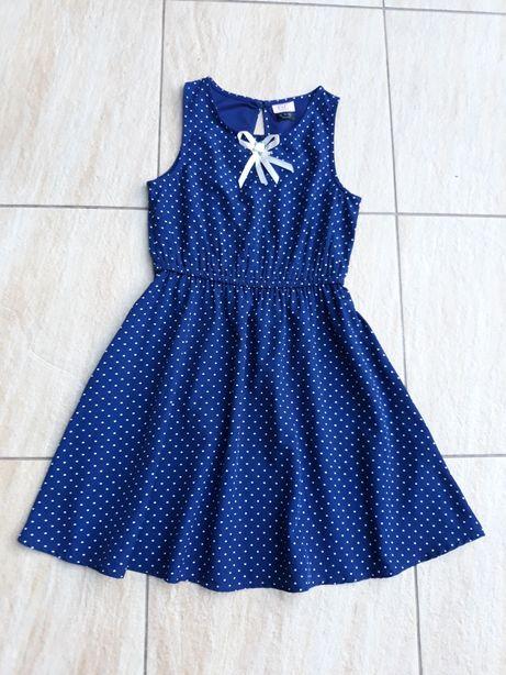 Sukienka niebieska 134
