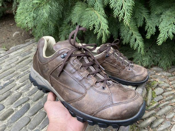 Кожаные ботинки meindl lugano (48p) трекинговые кроссовки lowa