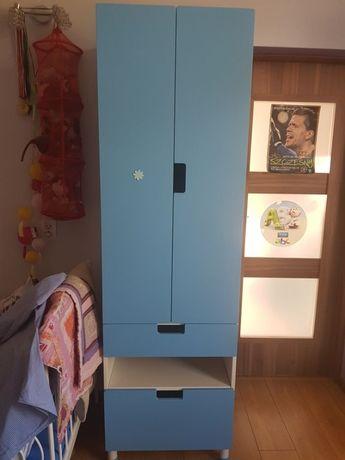 ikea stuva drzwi niebieskie