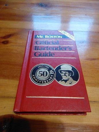 Książka Mr.Boston Official Bartender's Guide wydanie 1985