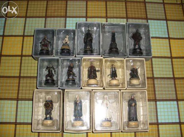 Figuras do jogo xadrez Senhor dos Anéis (cada) (portes grátis)