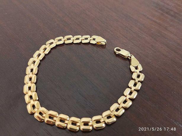 Bransoletka złota próba 585 nowa