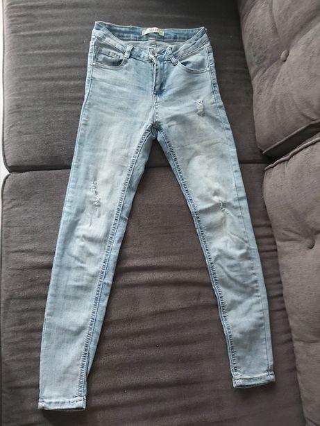 Spodnie skinny Xs