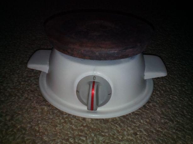Placa eléctrica com 1 disco
