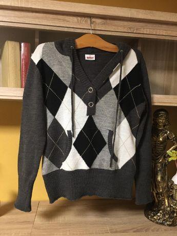 Ciepły, stylowy sweter damski na jesień | Rozmiar M | NOWY