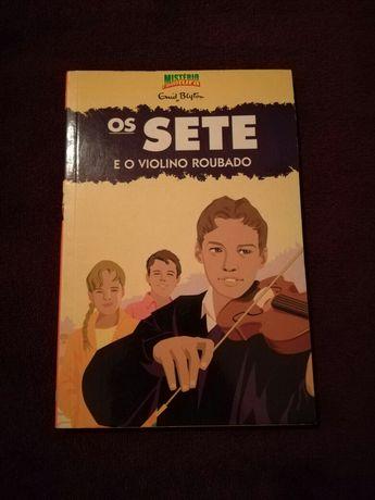 Vendo Livro Os Sete e o Violino Roubado
