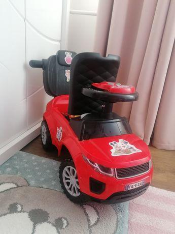 Autko - jeździk- czerwone