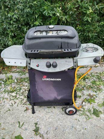 grill gazowy landmann z funkcją gotowania