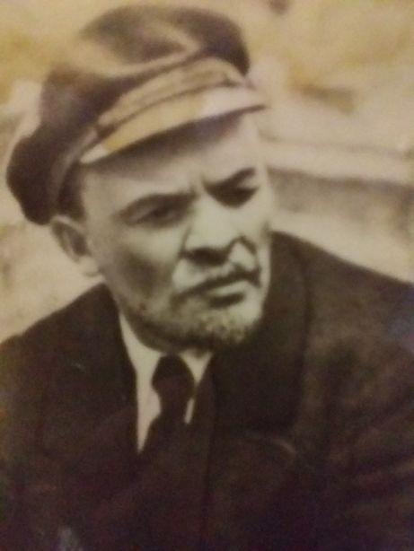 Портрет.Ленин В Кепке