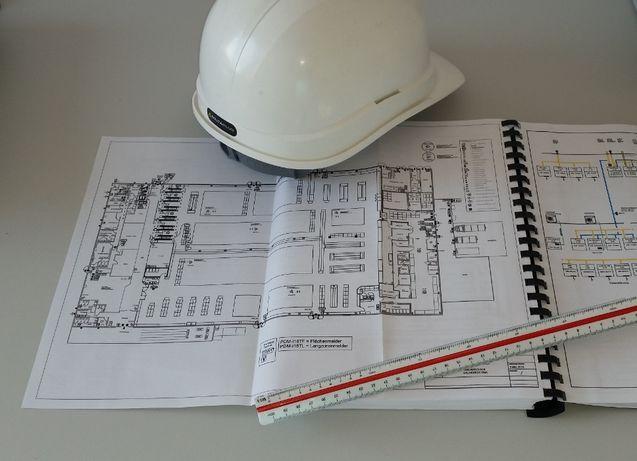 Elektryk, instalacje elektr, odbiory, pomiary, wpisy do dziennika bud.