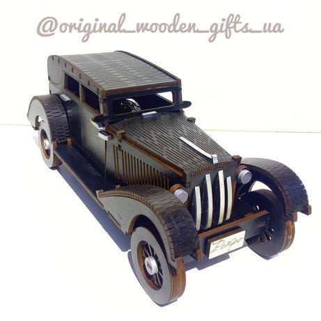 Модель Ретро авто, міні бар, сувенір, подарок, из дерева, машинка