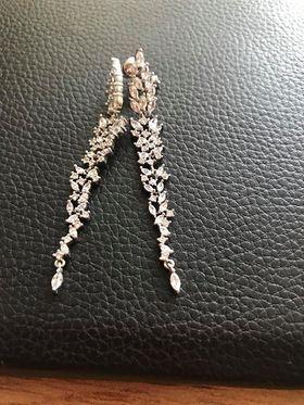 piękne kolczyki srebrne