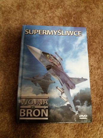 Supermyśliwce film dvd Wojna i Broń