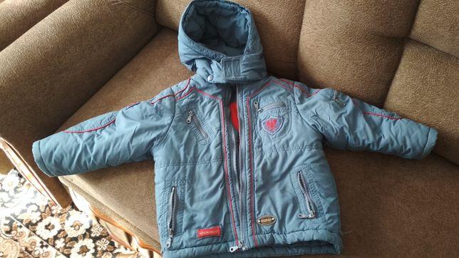 Куртки на мальчика 3-4 года